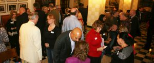 Speed Networking in full swing at the January 2015 AuthorCraft event